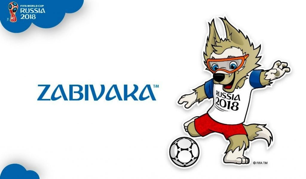 2018 FIFA World Cup Official Mascot Logo