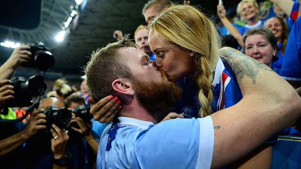 Iceland Captain Aron Gunnarsson Girlfriend