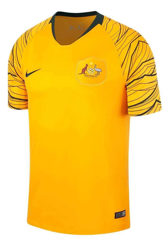 Australia 2018 World Cup Kits