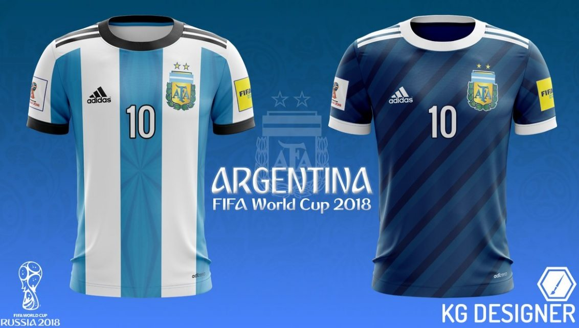 Argentina 2018 Jersey for 2018 FIFA World Cup