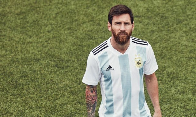 Argentina World Cup 2018 kit