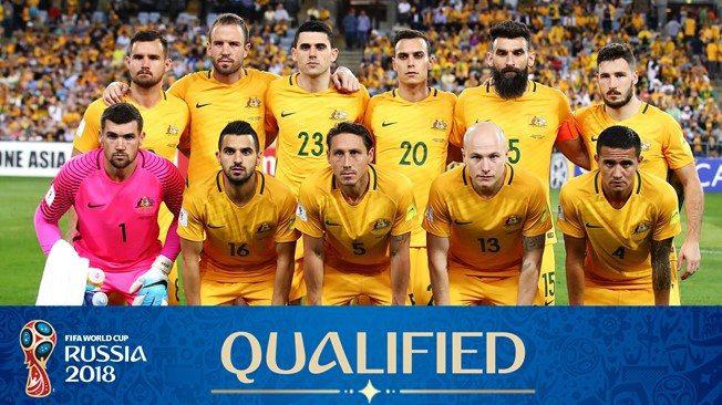 Australia team for world cup 2018