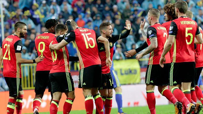 Belgium World Cup 2018 Squad