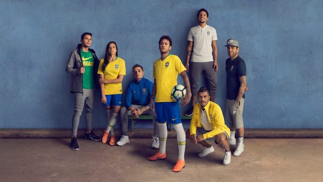 Brazil World Cup 2018 Kit