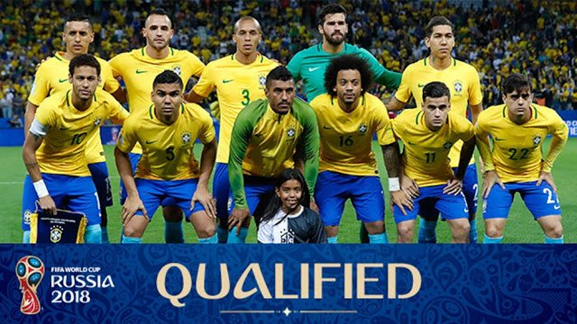 Brazil World Cup Squad 2018