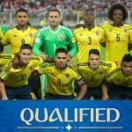 Colombia football team for world cup 2018