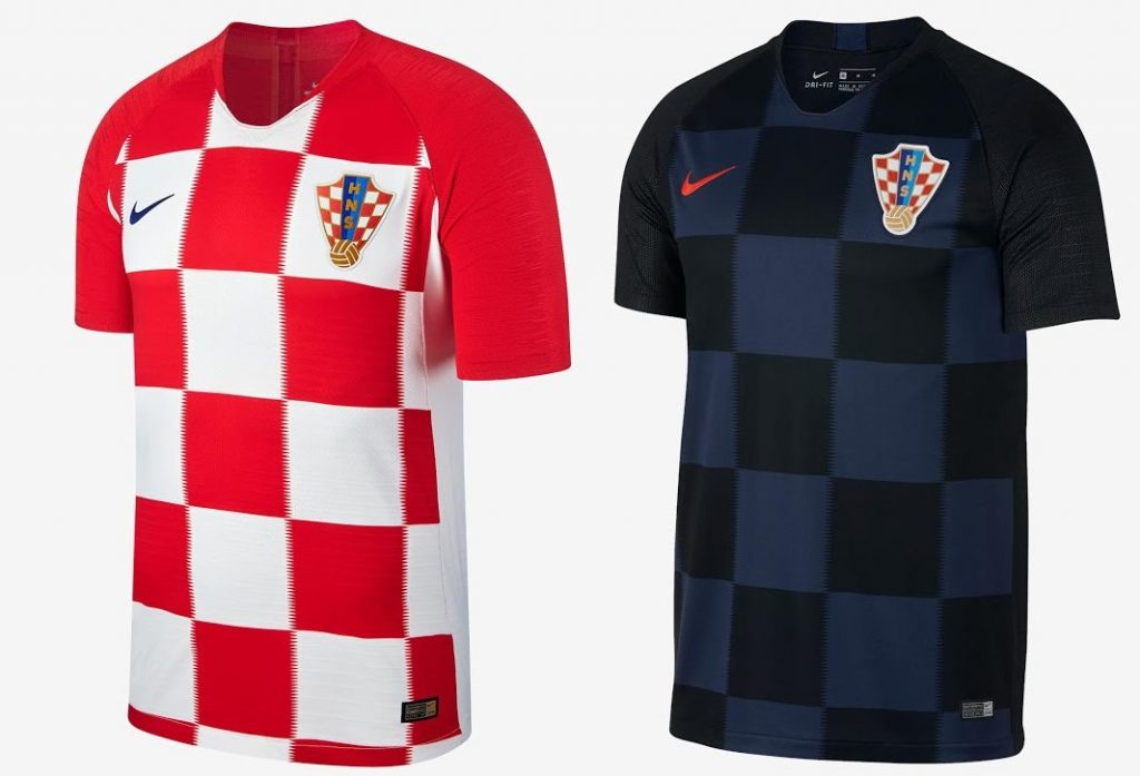 Croatia World Cup Kits