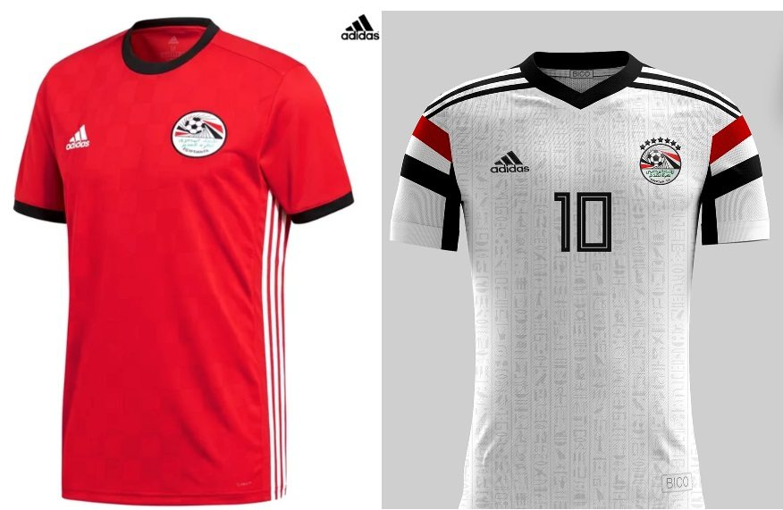 Egypt World Cup 2018 Kits