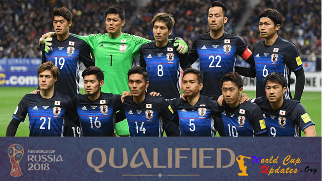 Japan Team For FIFA World Cup