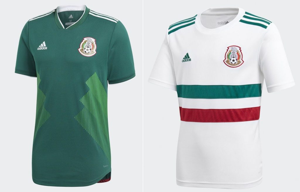 Mexico World Cup 2018 Kits