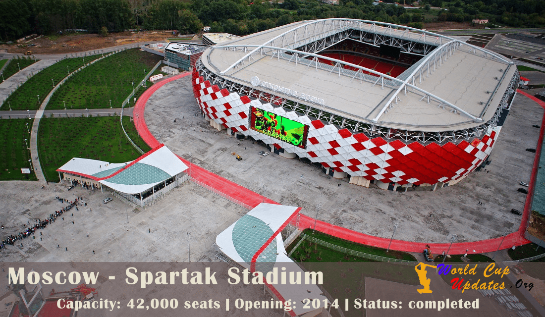 Moscow: Spartak Stadium