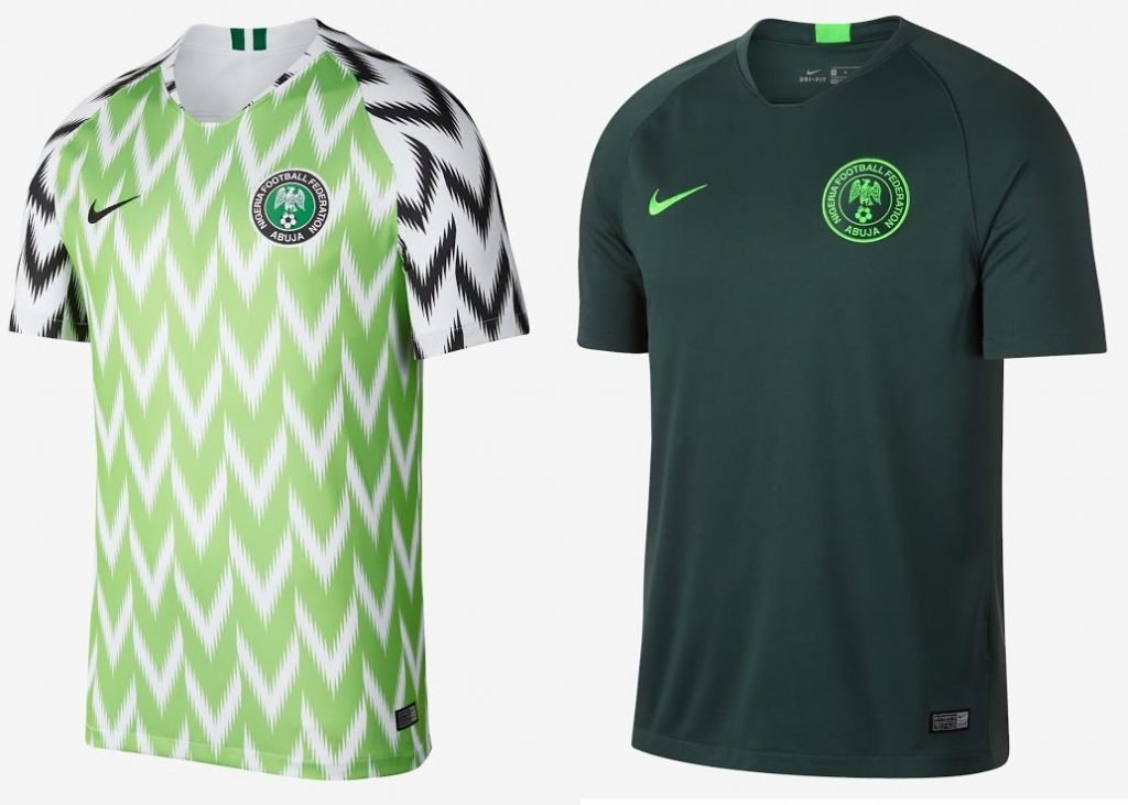 Nigeria World Cup 2018 Kits