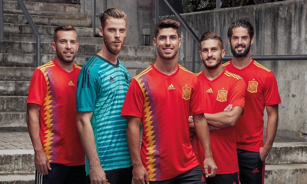 Spain 2018 FIFA World Cup HD Wallpapers