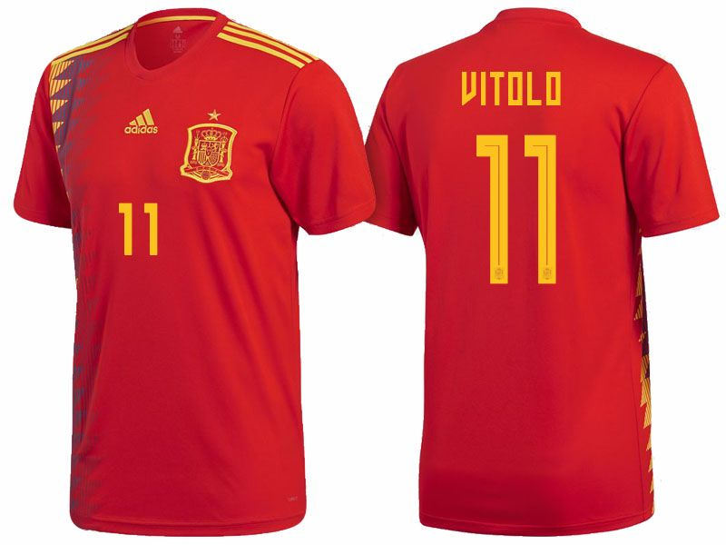 Spain 2018 FIFA World Cup Jersey