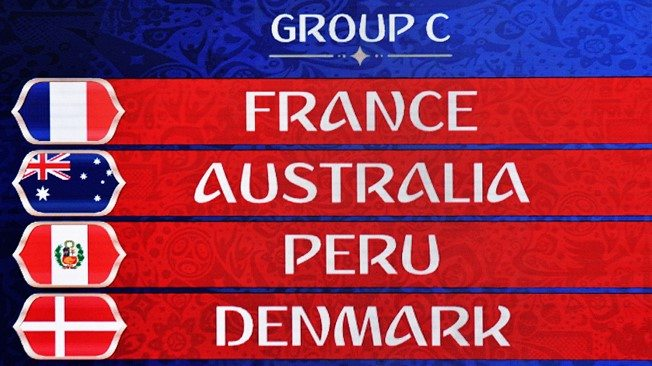 FIFA World Cup 2018 Group C