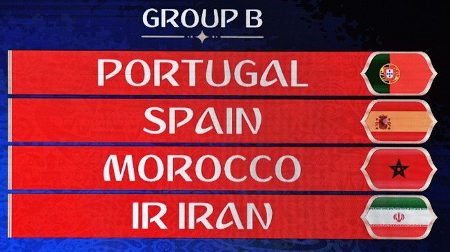 FIFA World Cup 2018 Group B