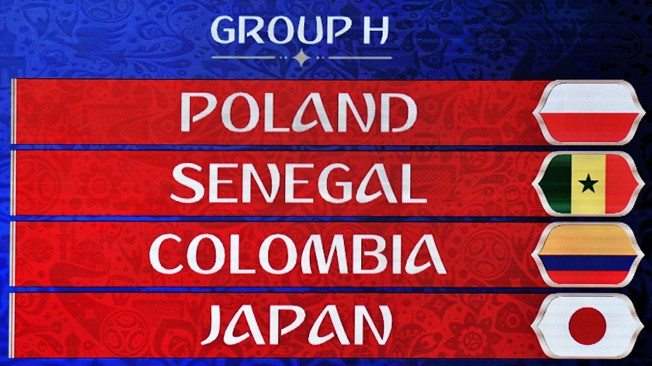 FIFA World Cup 2018 Group H