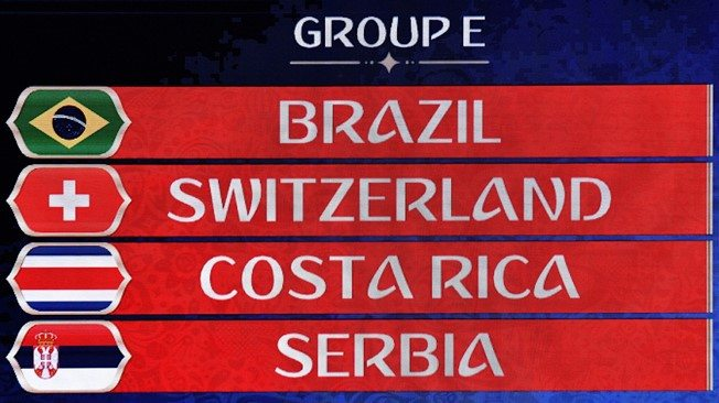 FIFA World Cup 2018 Group E