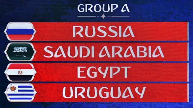 FIFA World Cup 2018 Group A
