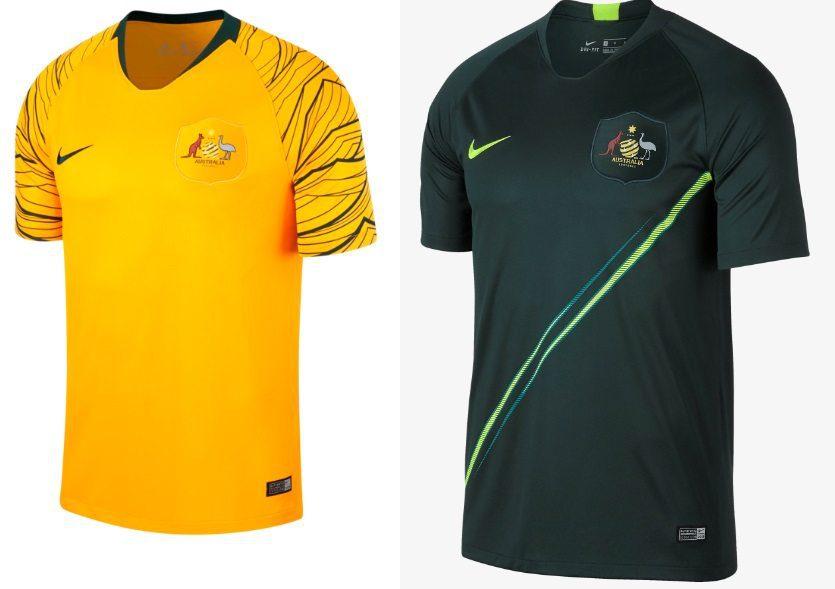 Australia World Cup 2018 Kits
