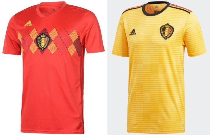 Belgium - Home & Away Kits