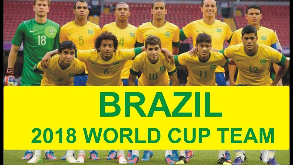 Brazil Football Team 2018 World Cup