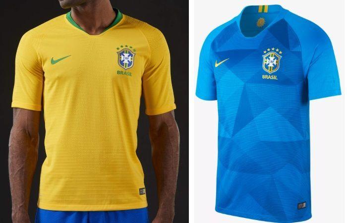 Brazil - Home & Away Kits