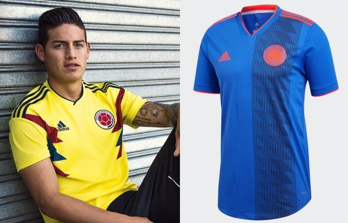 Colombia - Home & Away Kits