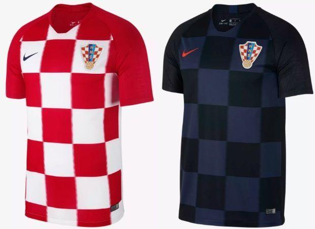Croatia - Home & Away Kits