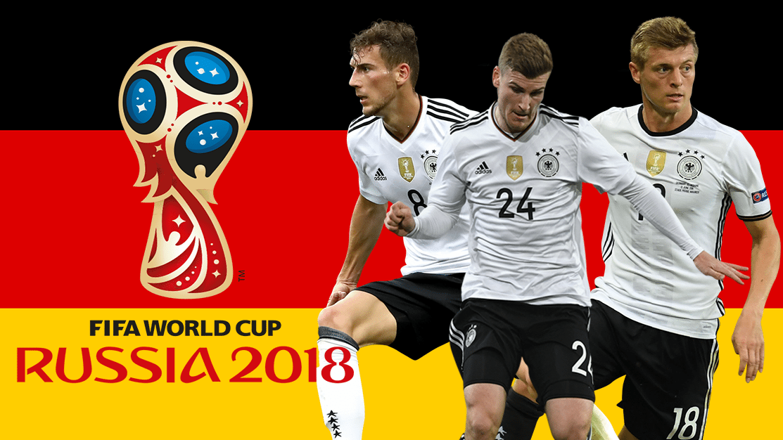 Germany Football Team 2018 World Cup