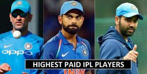 IPL 2018 Highest Paid Players