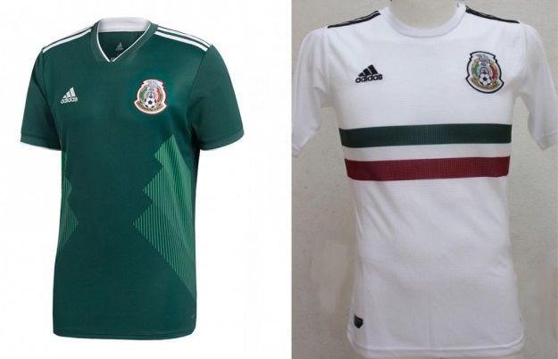 Mexico - Home & Away Kits
