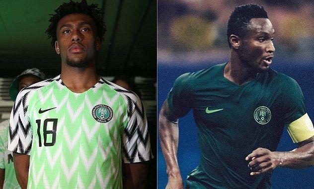 Nigeria - Home & Away Kits