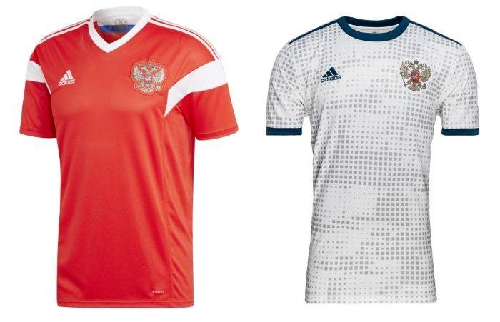 Russia - Home & Away Kits
