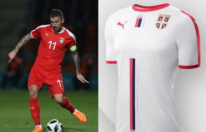 Serbia - Home & Away Kits