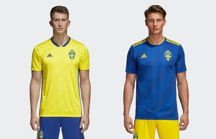 Sweden - Home & Away Kits
