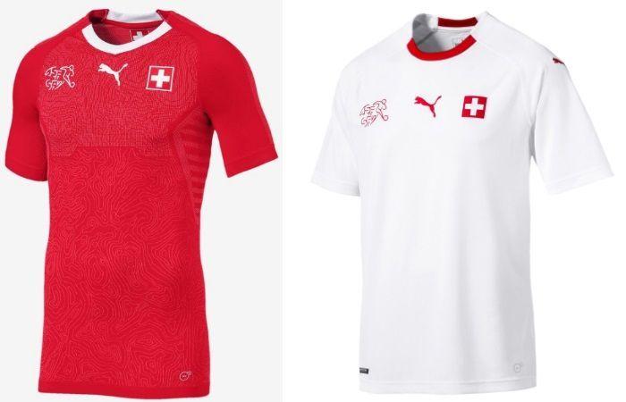 Switzerland - Home & Away Kits