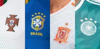 World Cup 2018 Kits