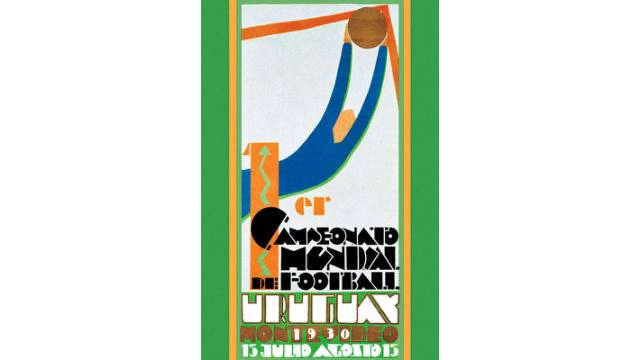 FIFA 1930 World Cup Poster