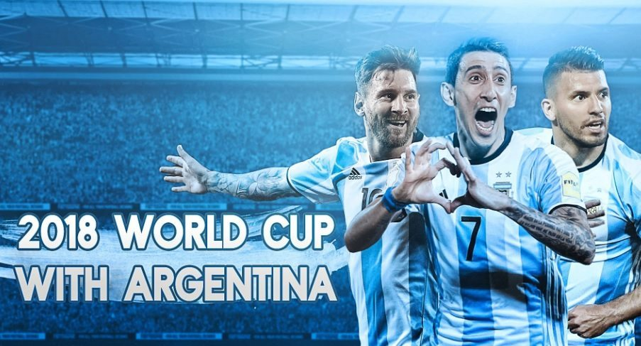 Argentina 2018 Football World Cup Wallpaper