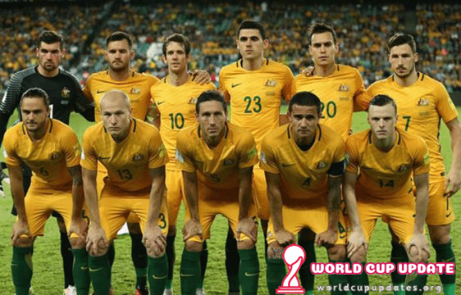 Australia World Cup 2018 Squad