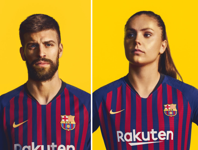 FC Barcelona 18-19 Home Kit Released
