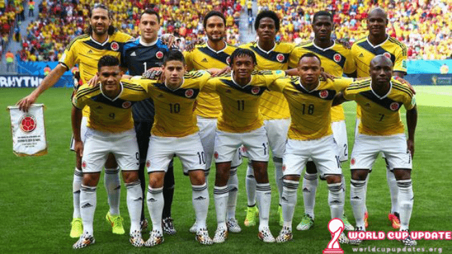 Colombia World Cup 2018 Squad