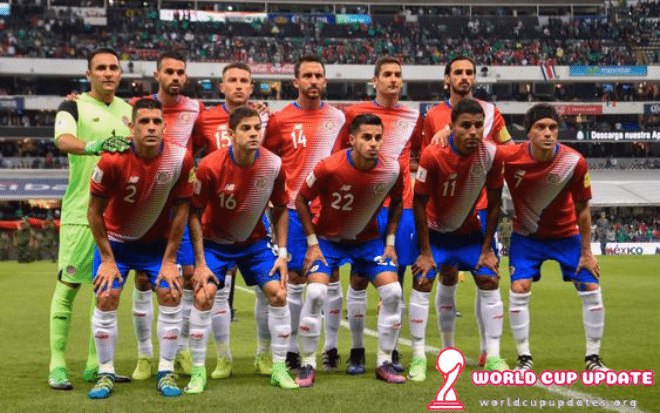 Costa Rica World Cup 2018 Squad