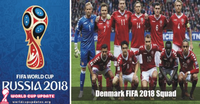 Denmark World Cup 2018 Squad