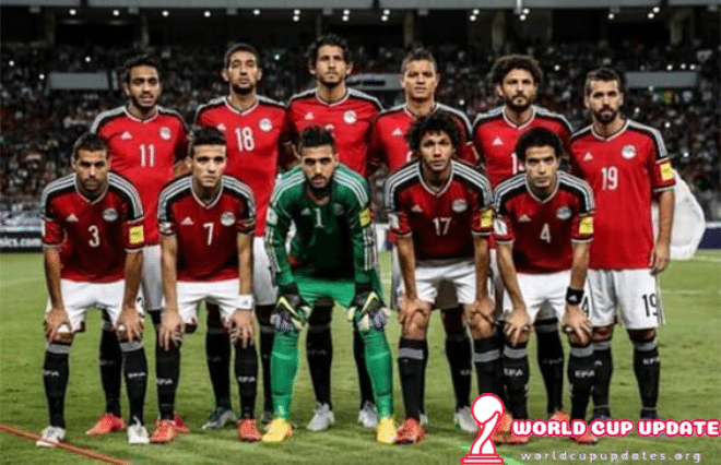 Egypt World Cup 2018 Squad