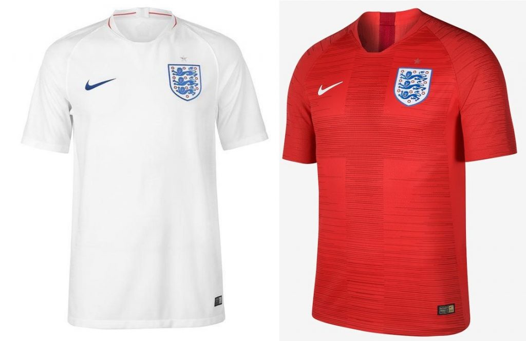 England World Cup 2018 Kits
