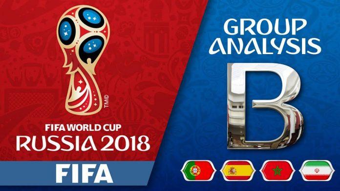 FIFA World Cup 2018 Group B Teams
