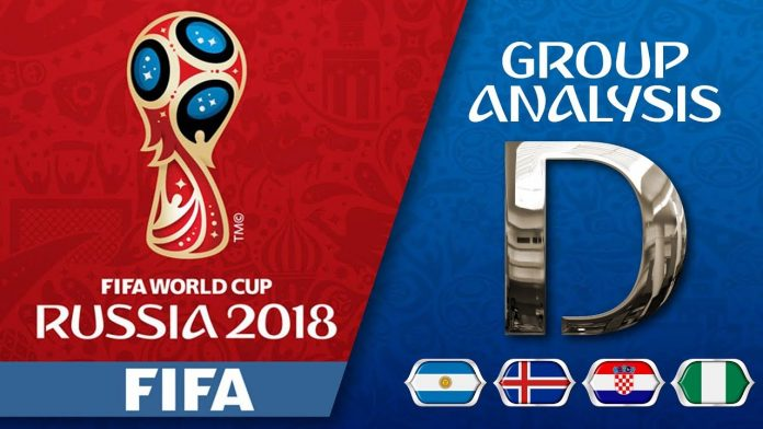 FIFA World Cup 2018 Group D Teams