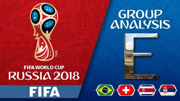 FIFA World Cup 2018 Group E Teams